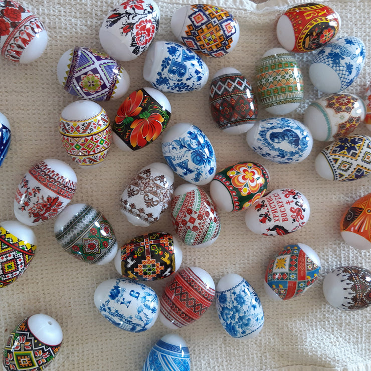 7 Geometrical Ukrainian Easter Egg Decorating Wraps