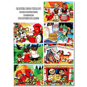 7 Folk Tales Ukrainian Easter Egg Decorating Wraps by BestPysanky
