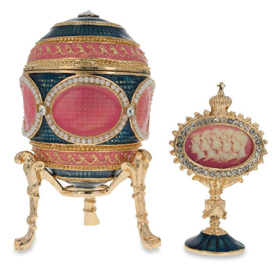 1914 Mosaic Royal Russian Egg by BestPysanky