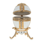 Buy Online Gift Shop 1890 Danish Palaces Royal Russian Egg in White