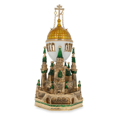 1906 Moscow Kremlin Musical Royal Russian Egg by BestPysanky
