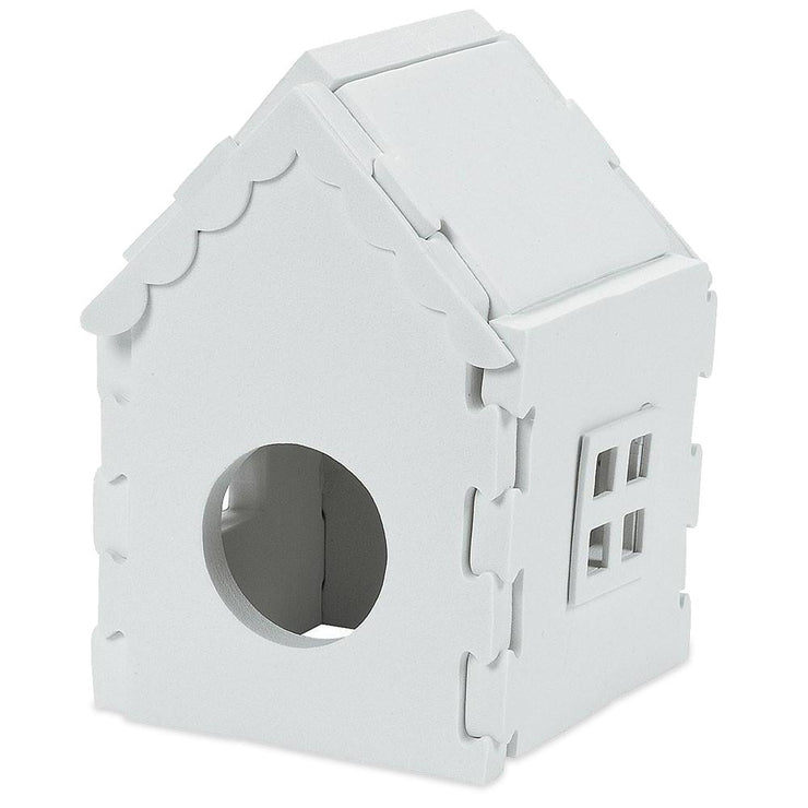 Unfinished Blank Foam Birdhouse Puzzle by BestPysanky
