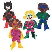 Buy Online Gift Shop 12 Super Heroes Standing Painted Finished Wooden Cutouts DIY Crafts
