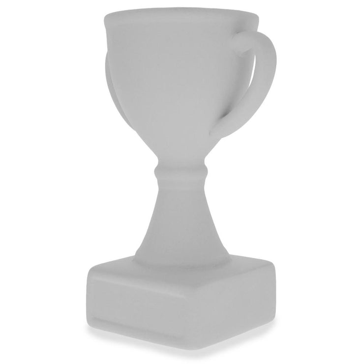 Buy Online Gift Shop Set of 3 Unfinished Unpainted Ceramic Trophies 5 Inches