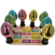 Set of 8 Shiny Plastic Easter Egg Hunt Trophies 5 Inches by BestPysanky