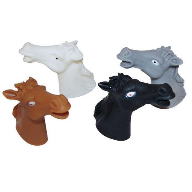 Set of 12 Vinyl Finger Horse Puppets by BestPysanky