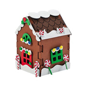 Foam Gingerbread House Christmas Craft Kit 5.75 Inches by BestPysanky