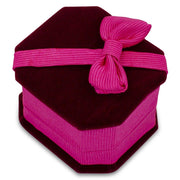 "BestPysanky Egg Decorating > Stands > Boxes - 2.75"" x 2.25"" X 1.25"" Octagon Velvet Ring Jewelry Box"