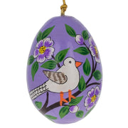 6 Animals Ukrainian Easter Egg Pysanky Wooden Ornaments