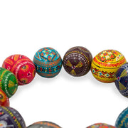 BestPysanky Easter Eggs > Wooden Eggs > Regular Size - Set of 12 Ukrainian Hand Painted Pysanky Wooden Easter Eggs