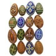 Real Ukrainian Goose Easter Egg in Assortment by BestPysanky