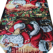 Buy Online Gift Shop Santa Red Christmas Tablecloth Holiday Runner 85 Inches