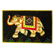 Royal Elephant Oriental Wooden Jewelry Box by BestPysanky