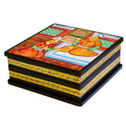 Indian Mughal Heritage Wooden Jewelry Box by BestPysanky