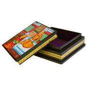 Indian Mughal Heritage Wooden Jewelry Box