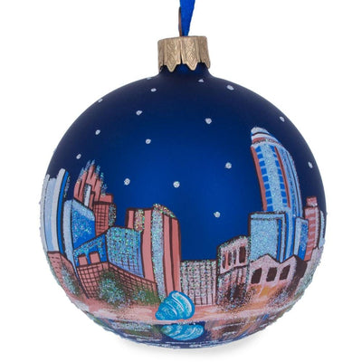 Orlando, Florida Glass Ball Christmas Ornament 3.25 Inches by BestPysanky