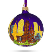 Baltimore, Maryland Glass Christmas Ornament by BestPysanky