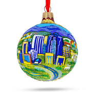 Tucson, Arizona Glass Ball Christmas Ornament by BestPysanky