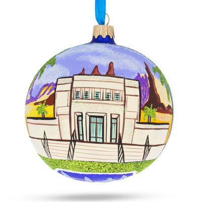 Mesa, Arizona Glass Ball Christmas Ornament 4 Inches by BestPysanky