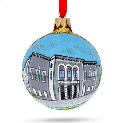 Dublin, Ireland (National Gallery) Glass Ball Christmas Ornament by BestPysanky