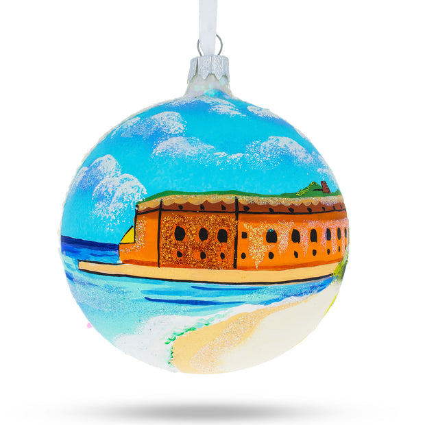 Key West, Florida Glass Ball Christmas Ornament 4 Inches by BestPysanky