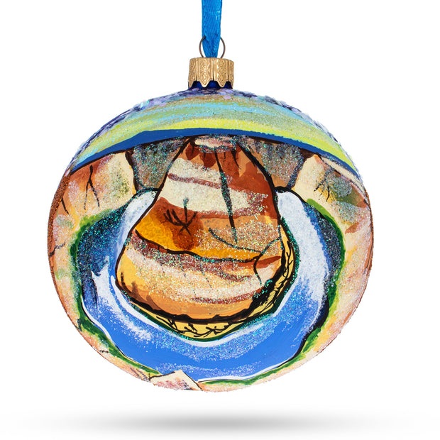 Grand Canyon National Park, Arizona Glass Ball Christmas Ornament 4 Inches by BestPysanky