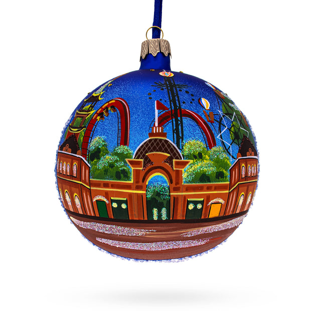 Copenhagen, Denmark Glass Ball Christmas Ornament 4 Inches by BestPysanky