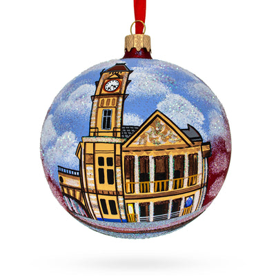 Birmingham Museum & Art Gallery, United Kingdom Glass Ball Christmas Ornament by BestPysanky