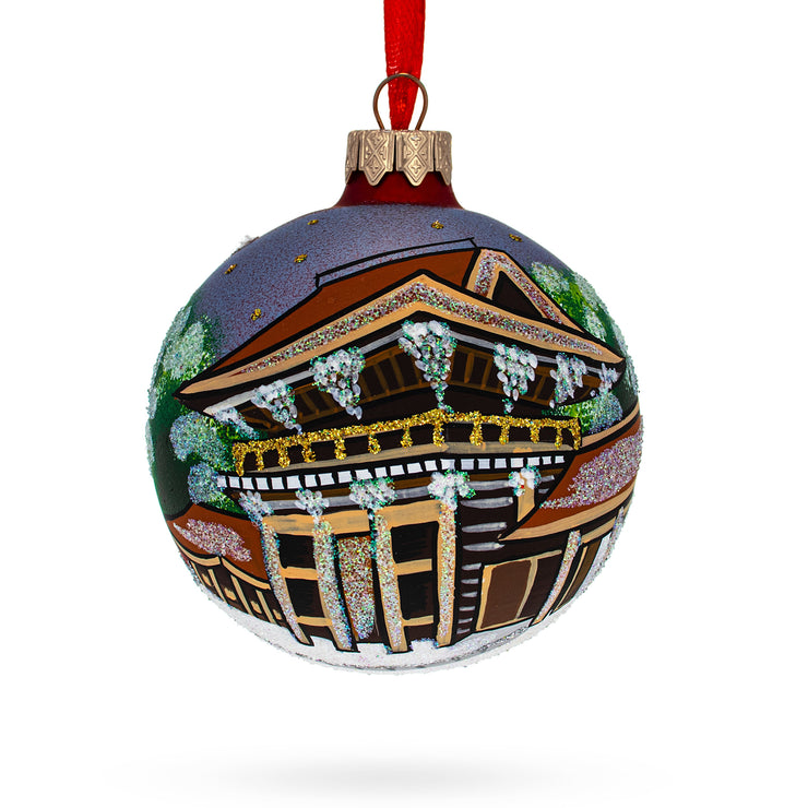 Meiji Jingu Shrine, Tokyo, Japan Christmas Ornament by BestPysanky