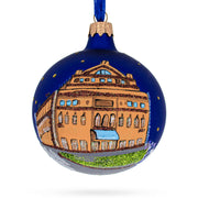 Teatro Colon, Buenos Aires, Argentina Glass Ball Ornament by BestPysanky
