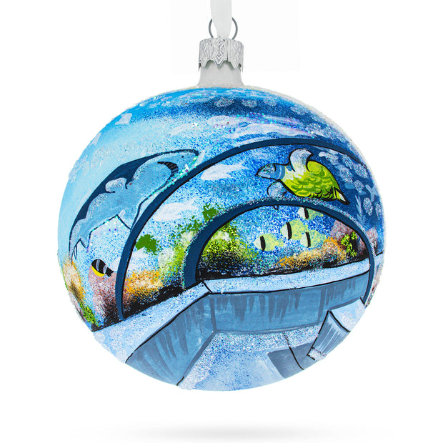 Ripley's Aquarium, Toronto, Canada Glass Ball Christmas Ornament 4 Inches by BestPysanky