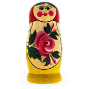 Buy Online Gift Shop 4 Pieces Semenov Style Red Scarf Matryoshka Russian Wooden Nesting Dolls