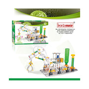 Functioning Crane Claw with Air Pressure Construction Model Kit (907 Pieces)
