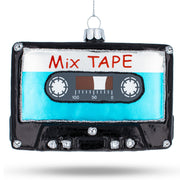 Mix Tape Glass Christmas Ornament by BestPysanky