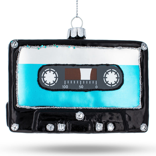 Buy Online Gift Shop Mix Tape Glass Christmas Ornament
