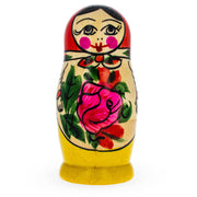 Buy Online Gift Shop Set of 4 Semyonov Traditional Matryoshka Wooden Russian Nesting Dolls 4 Inches