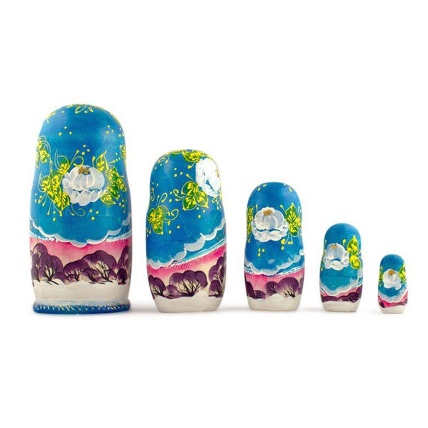 Buy Nesting Dolls > Winter Villages by BestPysanky