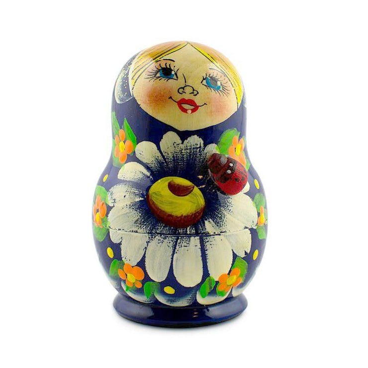 Buy Online Gift Shop Set of 5 Karina Russian Nesting Dolls 3.5 Inches