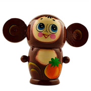 Buy Online Gift Shop Set of 5 Cheburashka Wooden Nesting Dolls Matryoshka 4.5 Inches