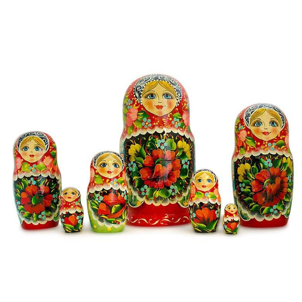 Buy Online Gift Shop 7 pcs Alisa Russian Nesting Dolls 8.5 Inches