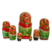 7 pcs Alisa Russian Nesting Dolls 8.5 Inches