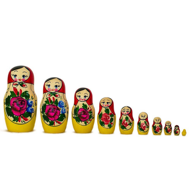 Buy Online Gift Shop 15 Semyonov XL Traditional Wooden Russian Nesting Dolls Matryoshka 12 Inches