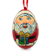 Santa Claus Wooden Christmas Ornament 3 Inches by BestPysanky