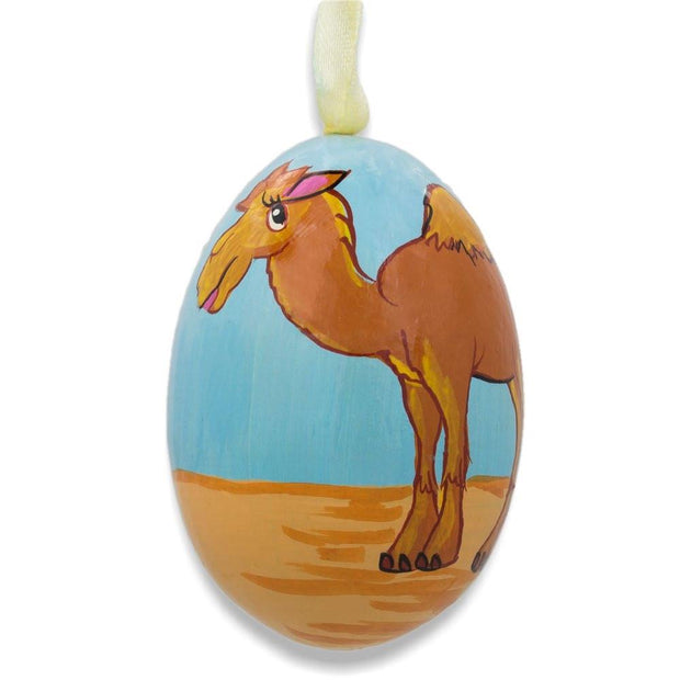 Camel Wooden Christmas Ornament 3 Inches by BestPysanky