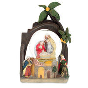 Nativity Scene Water Snow Globe 9.5 Inches by BestPysanky