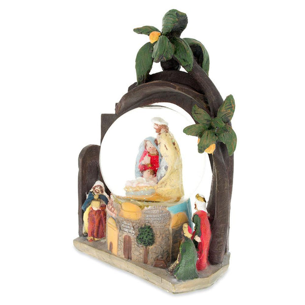 Buy Online Gift Shop Nativity Scene Musical Water Snow Globe 9.5 Inches