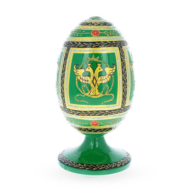 1912 Napoleonic Russian Wooden Egg by BestPysanky