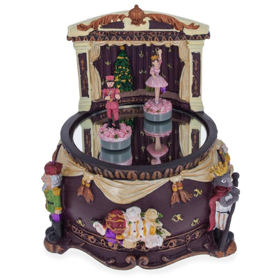 Nutcracker Dancing with Ballerina Animated Music Box by BestPysanky