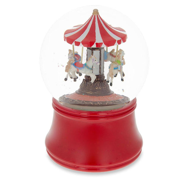 Buy Snow Globes > Carousels by BestPysanky