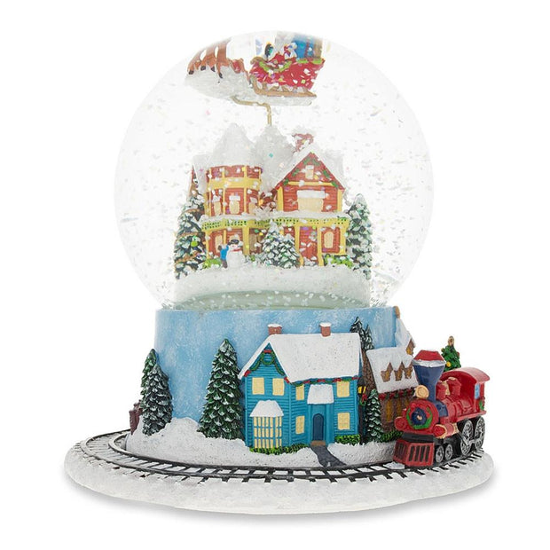 Buy Snow Globes > Santa by BestPysanky